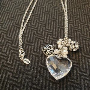 Charming sweet heart necklace